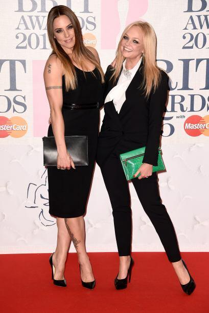Melanie C y  Emma Bunton le apostaron al clásico chic para no errar dura...
