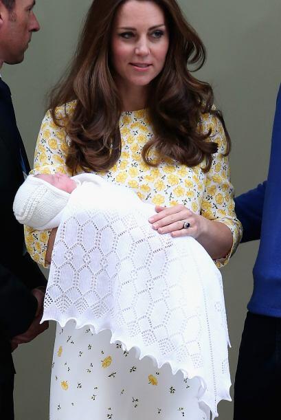 La princesa será conocida como; Su Alteza Real la Princesa Charlotte de...