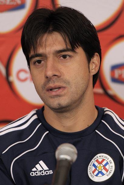 Juilo Cáceres, ex River, Boca y mundialista con Paraguay, se uni&...