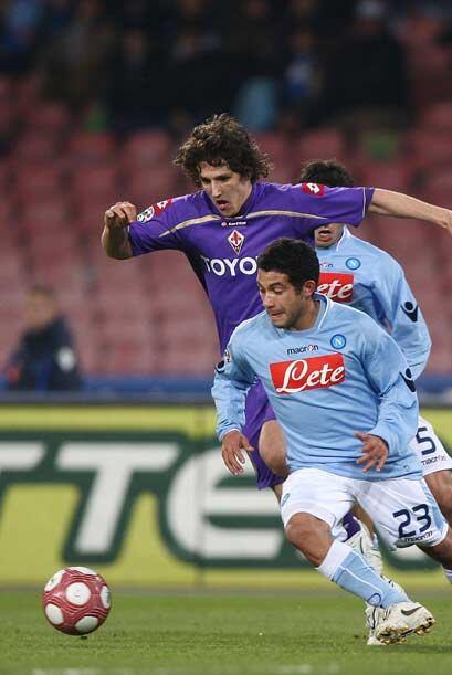Firoentina visitó al Nápoli en la jornada 28 de la 'Serie A' del 'Calcio...