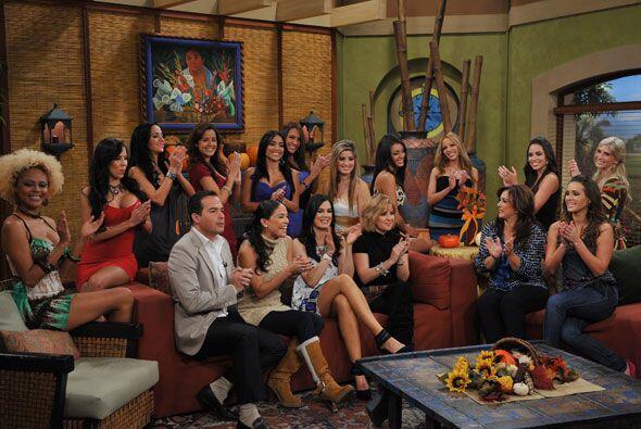 Las finalistas del Miss República visitaron la casita de Despierta América.
