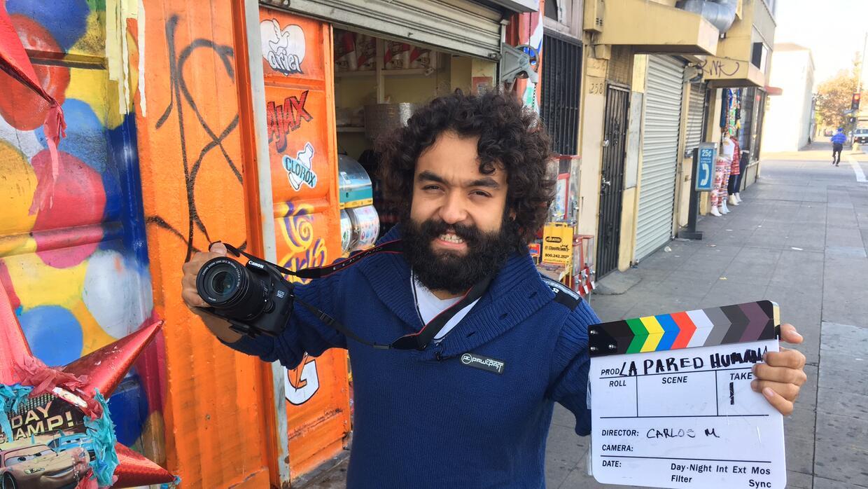 Calors Mendez, es dreamer y estudió Cine y Televisión.