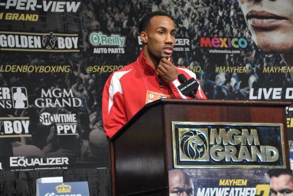Bey dijo que quiere abrirse camino entre los grandes del boxeo y que est...