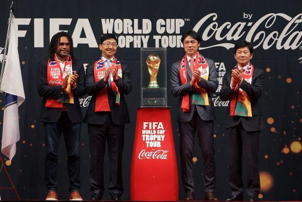 90 países recibieron la Copa del Mundo en Trophy Tour durante los 267 dí...