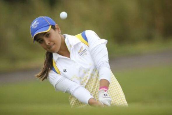 La colombiana María José Uribe se adueñó del podio en la rama femenil de...