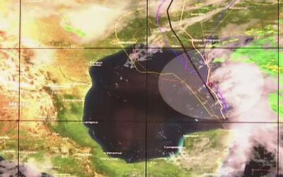 Autoridades monitorean de cerca actividad en el Golfo de México que podr...