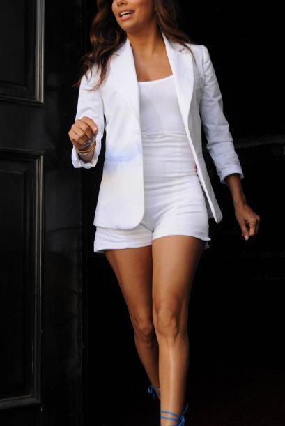 Famosas como Eva Longoria suelen sacarle mucho provecho con sus shorts f...