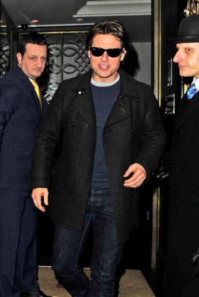 Así es, Tom Cruise pudo reencontrarse con su ex Penélope Cruz.
