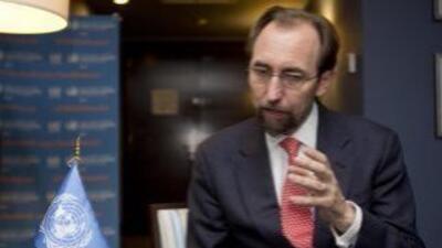 Zeid Ra'ad Al Hussein, comisionado de la ONU para los derechos humanos