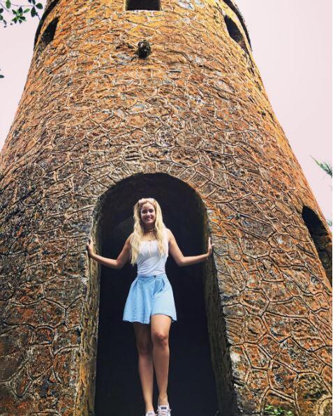Aleyda ortiz disfruta de las bellezas de puerto rico for Turismo interno p r