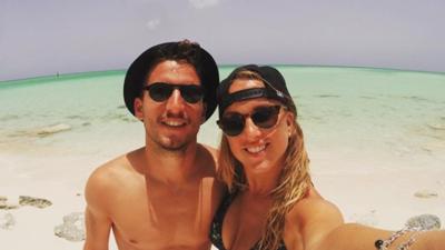 Dries Mertens y Kat Kerkhofs, una pareja mundialista a favor de Bélgica