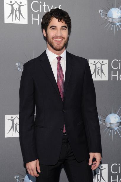 """Darren Criss interpreta a """"Blaine Anderson"""" un chico gay que es el objet..."""