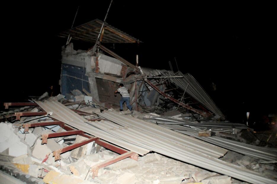 La devastación dejada por el potente terremoto en Ecuador ecuador7.JPG