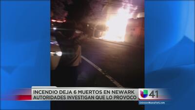 Seis miembros de una familia mueren en siniestro en Newark