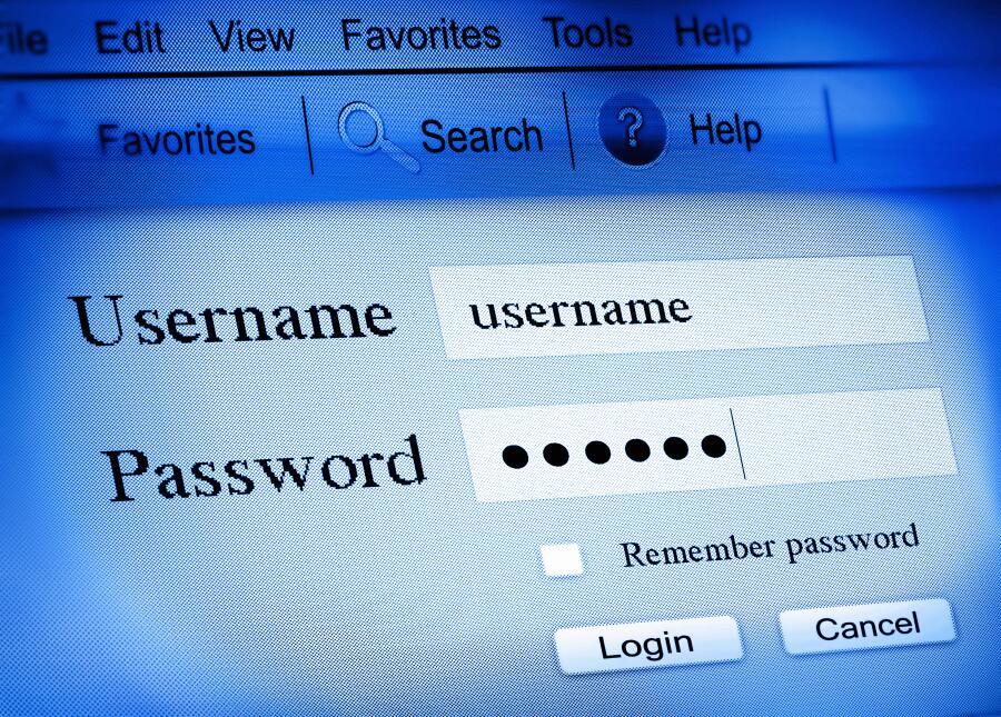seguridad online contraseña