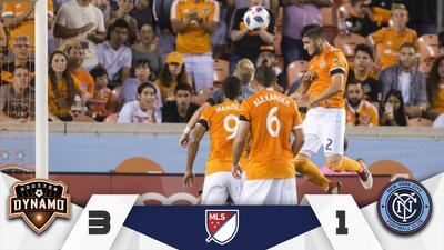 Fuerza latinoamericana de Houston Dynamo supera al NYCFC de David Villa