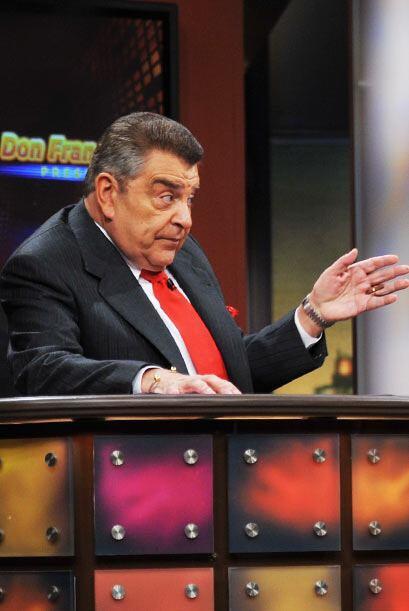 Don Francisco cuestionó al cantautor acerca de todos los rumores...