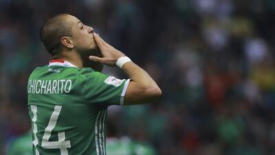 El 'Chicharito' y otros cracks del mundo que son goleadores con sus selecciones