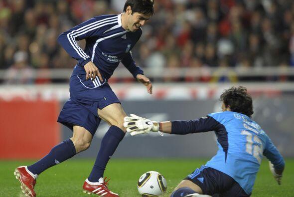Kaká estuvo presente en este encuentro y marcó un gol.