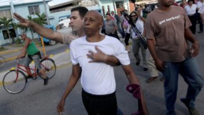 Guillermo Fariñas, opositor cubano.