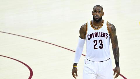 """""""Tuve un juego difícil, punto"""", declaró el Rey."""
