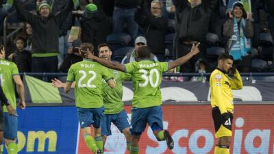 Sounders goleó al Santa Tecla y será el rival de Chivas en la Concacaf Liga de Campeones
