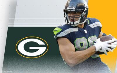 Jimmy Graham es nuevo jugador de los Green Bay Packers.