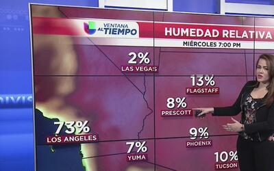 Aumenta el riesgo de incendios forestales en Arizona por la baja humedad