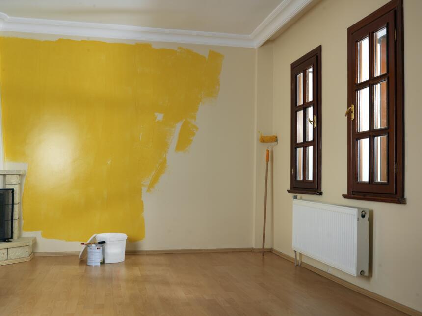 Colores en la pared