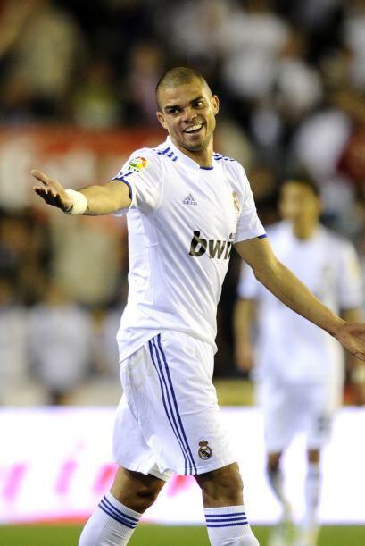 Pepe volvió a tener una actuación sublime en la mitad del campo.