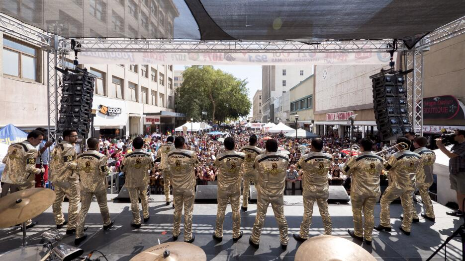 ¡Así se vivió el evento de Fiestas Patrias 2016 por Univision 21 Fresno!...