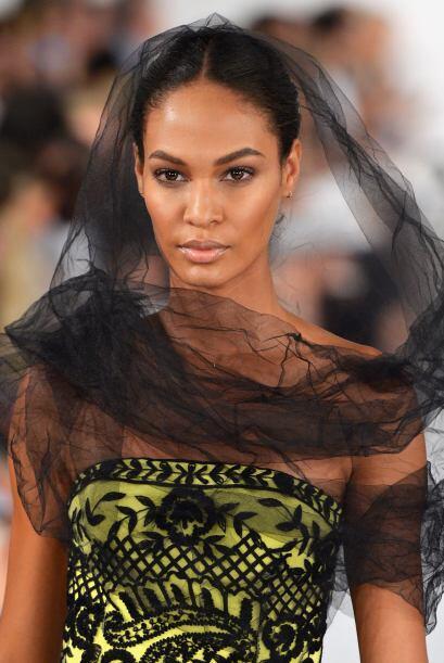La modelo puertorriqueña Joan Smalls fue nombrada como la mujer con la c...