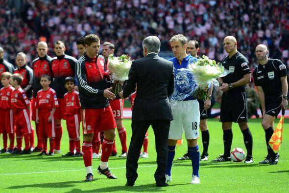 Se vivió un 'derby' en las semifinales de la FA Cuo. Liverpool y Everton...