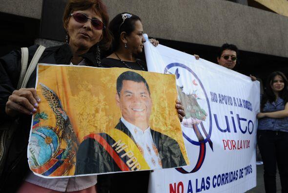 Con este triiunfo, Correa sumó su sexta victoria en las urnas desde que...