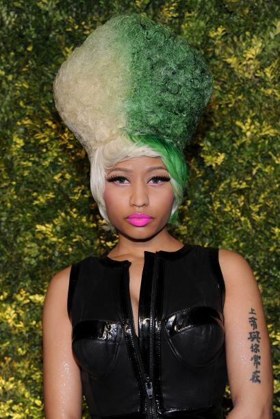 ¿Te animarías a ponerte verde en el cabello?