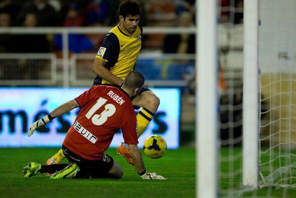 El propio Saúl marcaría en propia meta el cuarto gol del Atlético en el...