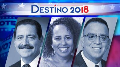 Jesús 'Chuy' García, Sol Flores y Richard González compiten por...