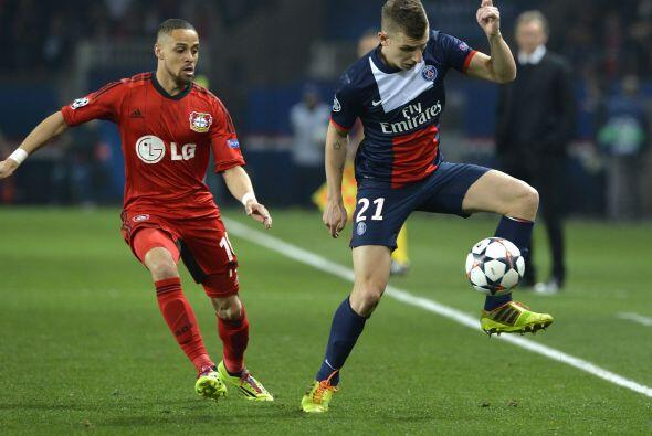 El Leverkusen se dio el lujo de fallar un penalti y los franceses se sen...