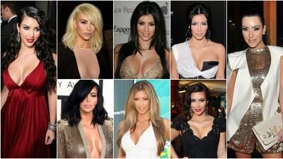 Los multifacéticos looks de Kim Kardashian