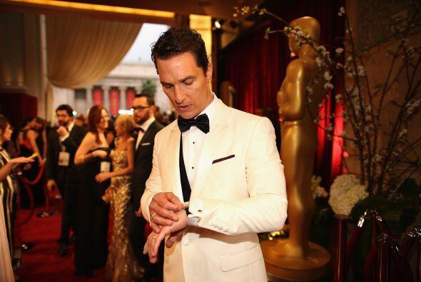 Matthew McConaughey decía que no estaba nervioso y que disfrutaría al má...