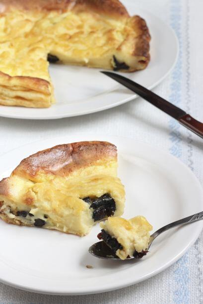 Una tarta (que no es un sándwich) de frutas o de carne tambi&eacu...