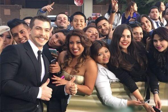 """""""#LatinGrammy time! Desde #LasVegas en el #MGMGrand con los fans de @uni..."""