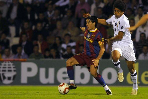 Por su parte, el Barcelona visitó el campo del Ceuta, un equipo de la Se...