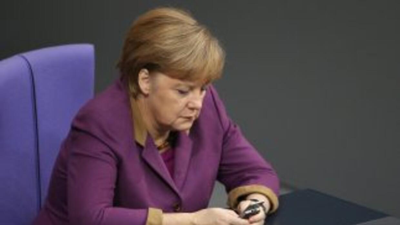 La canciller alemanaAngela Merkel.