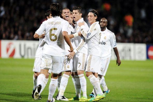 Y el Real Madrid quedó matemáticamente clasificado para la próxima ronda.