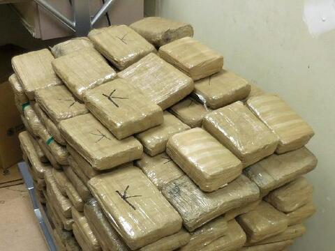 Casi 100,000 dólares en drogas decomisados en la frontera
