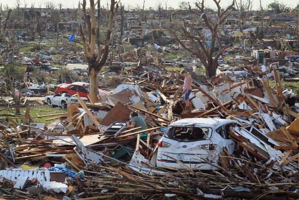 El desastre fue el segundo de mayor magnitud que deja un tornado en meno...