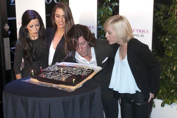 Nicolás Vallejo Nágera celebró sus 42 años con una magna fiesta en Madri...