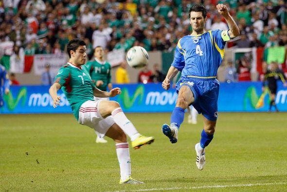 Pablo Barrera tuvo buenos destellos al ataque, pero le faltó regularidad...