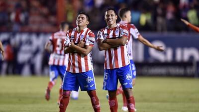 En fotos: Atlético San Luis deja en estado de coma al Atlante al vencerlo 3-0 en la Ida